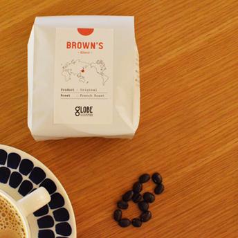 ブレンドコーヒー『BROWN'S』