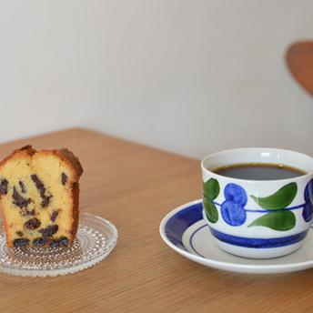 コスタリカとチョコとラムレーズンのパウンドケーキ