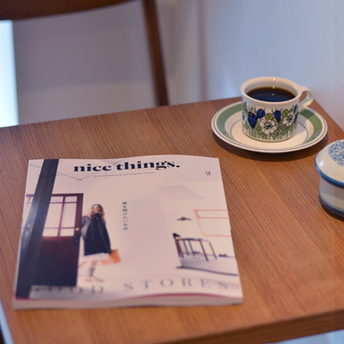 nice things.2月号に掲載されました