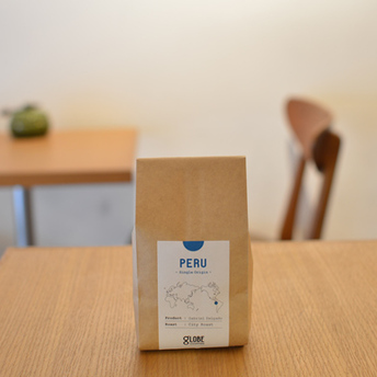 コーヒー豆発売のお知らせ:ペルー ガブリエル・デルガド《シティロースト》