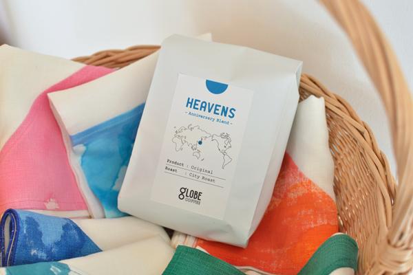 3周年記念ブレンドコーヒー『ヘブンス』